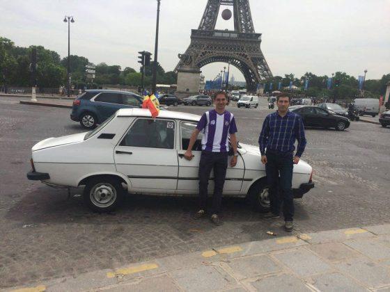 Costin şi Leo în Paris cu Dacia